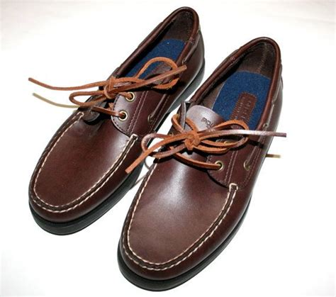 vintage ralph polo sport mens boat shoes size 9 1 2
