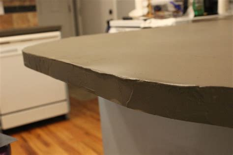 my do it yourself kitchen island with concrete countertops diy concrete kitchen countertops a step by step tutorial