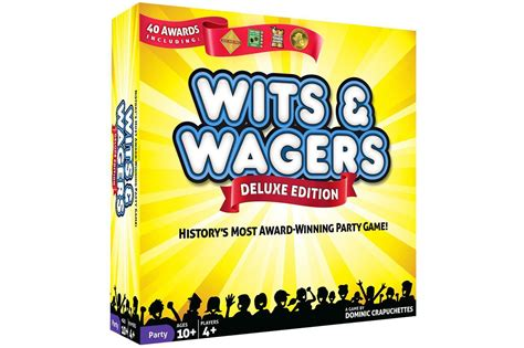 game design wits review of wits wagers trivia game