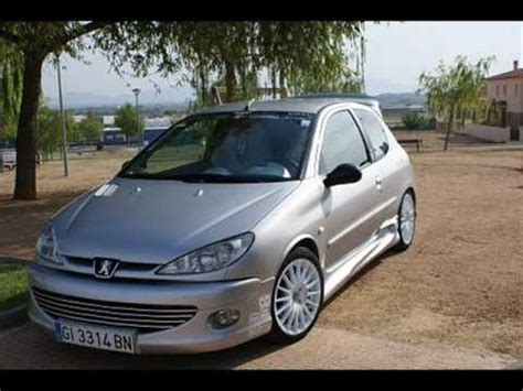 peugeot 206 tuning peugeot 206 tuning by toreno youtube