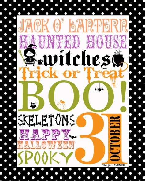 printable halloween images for free the 36th avenue 25 halloween free fonts and printable