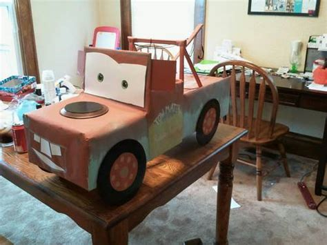 how to make a car out of index cards mcqueen and mater occasions and holidays