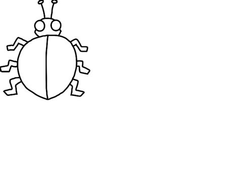 blank ladybug template ladybird outline cliparts co