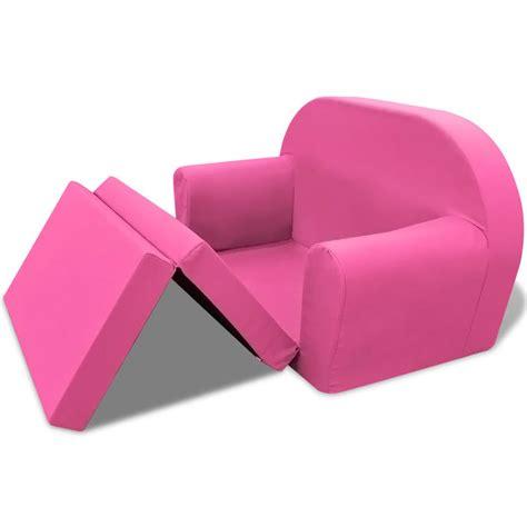 poltrone letto per bambini articoli per vidaxl poltrona letto per bambini rosa