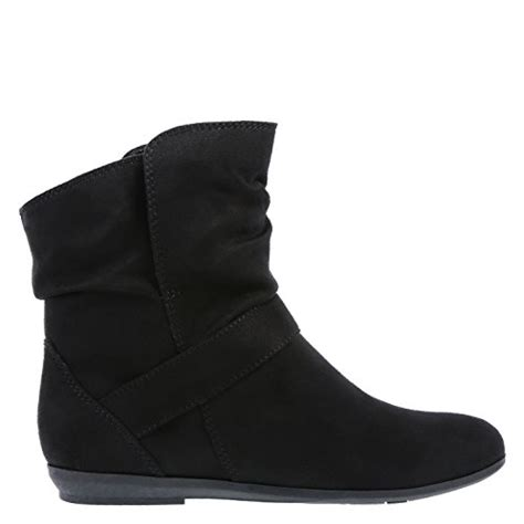 lower east side boots lower east side s black suede s natalee slouch