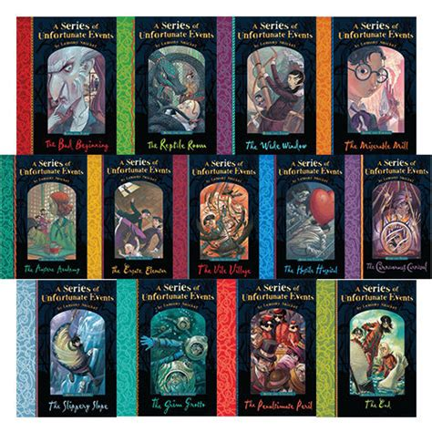 the series books a series of unfortunate events by lemony snicket 1 13 book