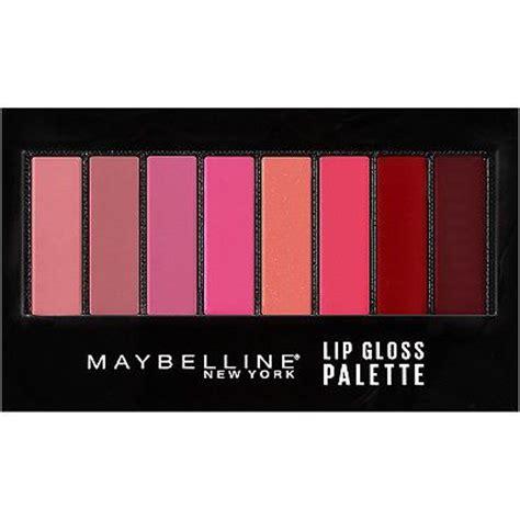 Lipstick Palette Maybelline maybelline lip gloss palette girly essentials