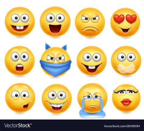 royalty free stock photo vector smiley faces botellas smileys set smiley faces royalty free vector image