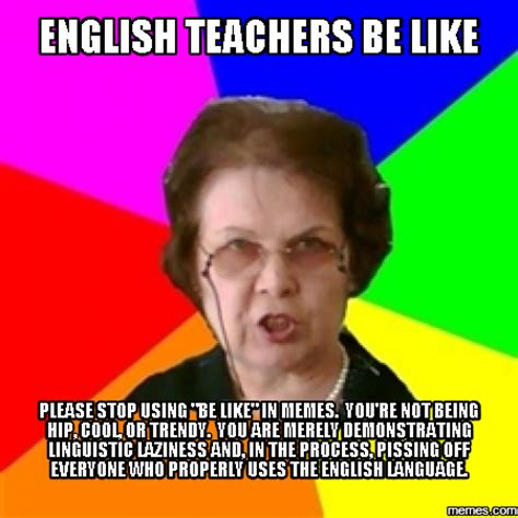 English Teacher Memes - home memes com