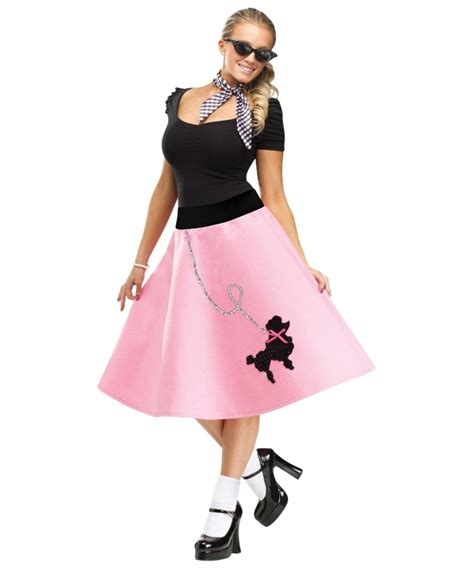 poodle skirt 1920shalloween costumes