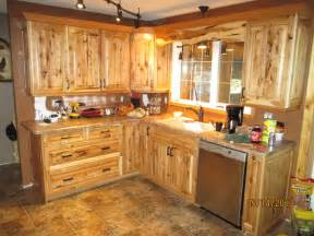 Knotty Hickory Kitchen Cabinets knotty hickory kitchen cabinets joe s kitchen rustic kitchen