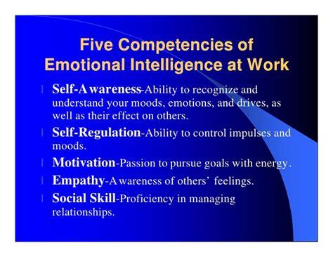 Emotional Intelligence At Work emotional intelligence team building