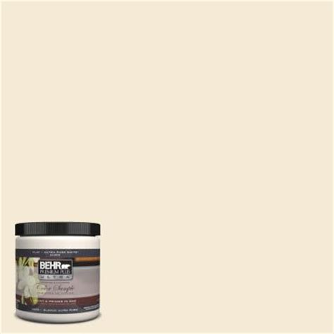 behr premium plus ultra 8 oz icc 10 vanilla interior exterior paint sle ul20016 the