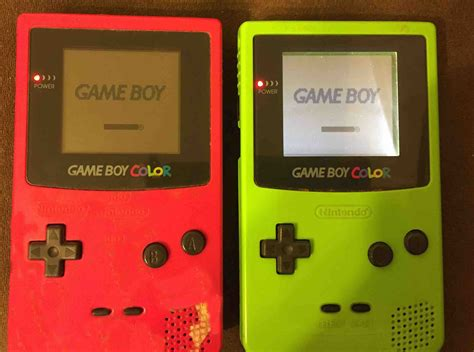 gameboy colour mod game boy color frontscreen mod