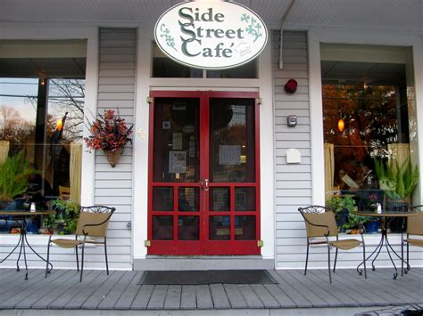 side street cafe in florence ma places spaces pinterest