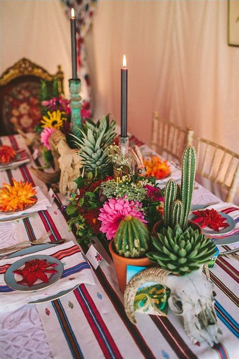 Mexican Themed Decoration Ideas by Best 25 Mexican Table Setting Ideas On
