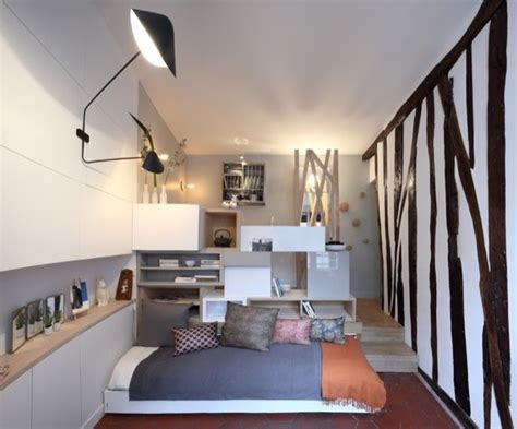 130 sq ft micro apartment in paris kitchen and bathroom woman goes tiny in a 129 sq ft micro apartment