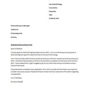 50 best free application letter templates sles free