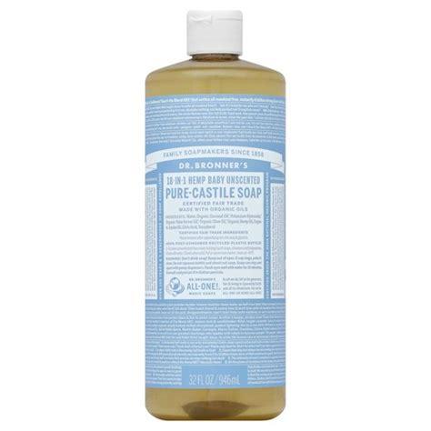 Sale Dr Soap dr bronner s unscented baby mild castile soap 32 oz target