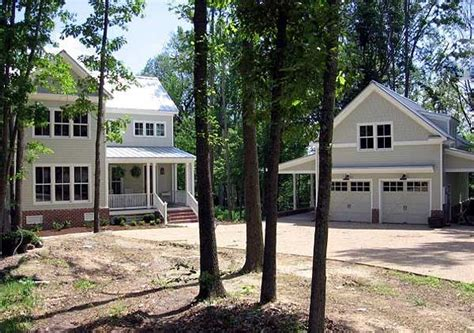 Plan 30013rt Attractive Farmhouse With Garage Bonus Cottage House Plans With Breezeway