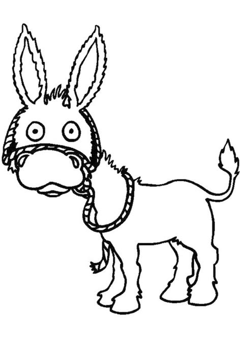 donkey coloring pages preschool 23 best donkey coloring pages images on pinterest