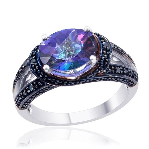 dreamy wedding jewelry for him and in colorful topaz