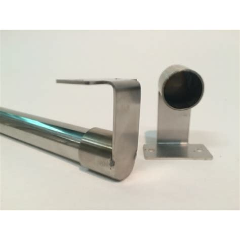 stainless steel curtain rod curtain rod 19mm stainless steel per metre bath