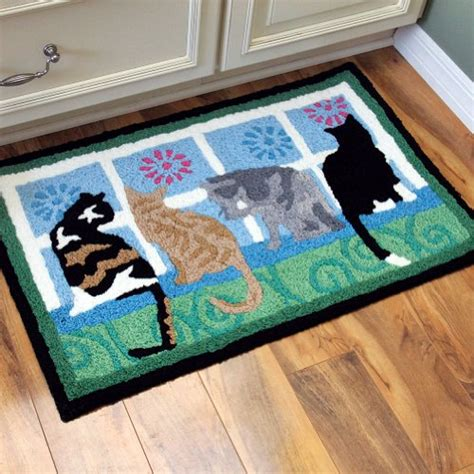 best rug for cats jellybean kittens in the window indoor outdoor rug cats welcome door mat cobaltus73