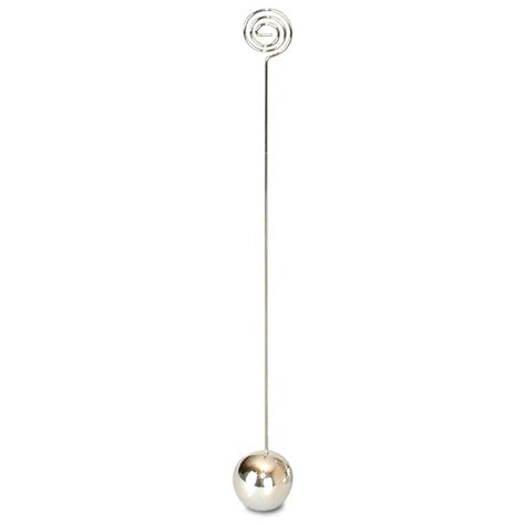 silver table number stands pack of 12 silver table number stands 25cm peeks