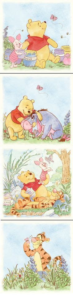 Wall Sticker Wall Stiker Wallsticker Dinding 152 Pooh Family winnie the pooh he knew how to write from the the writing winnie