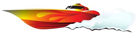 cartoon fast boat powerboat clipart clipground