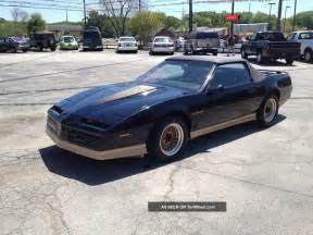 1984 Pontiac Firebird Trans Am 1984 Pontiac Trans Am Convertible Collectors Edition