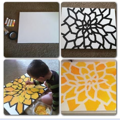 pretty painted floors with flower designs 25 best ideas about flower canvas on pinterest flower