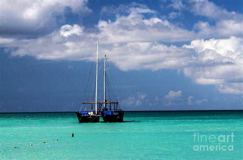 catamaran sailing in aruba sailing aruba photograph by judy wolinsky