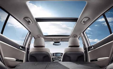 kia sportage interior features space colors