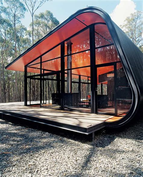 pod houses futuristic pod home by jesse judd architects melbourne