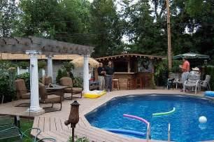 Above Ground Garden Ideas Above Ground Pool Landscaping Design Ideas Pool Design Ideas