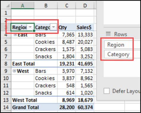 change layout of excel table quickly change pivot table layout excel pivot