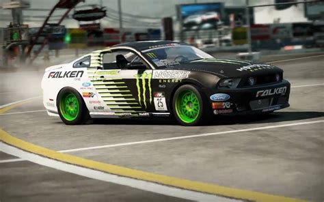 Shift 2 Drift Ford Mustang Monster Energy Falken tire