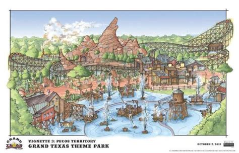 theme park newspaper articles grand texas theme park plans unveiled for 2015 opening