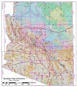 arizona surveying and mapping new geologic map index for arizona geological survey map