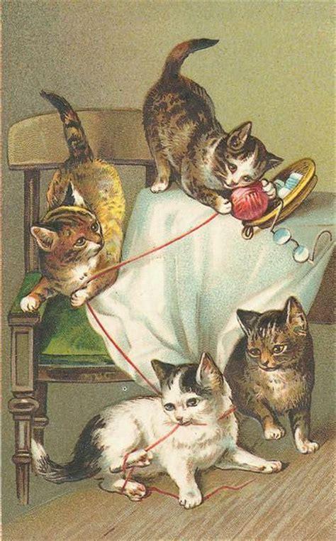 retro en vintage vintage cat