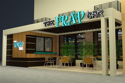 cafe design exterior the frap bar cafe interior and exterior design proposal on