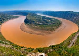 china le ecological measure in the yellow river huang he