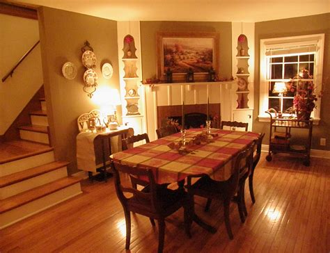 the cozy little kitchen an autumn dining room mr cozy