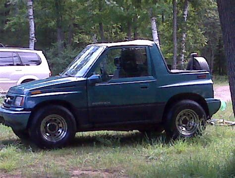 Suzuki Sidekick 1997 by Pyro1453 1997 Suzuki Sidekick Specs Photos Modification