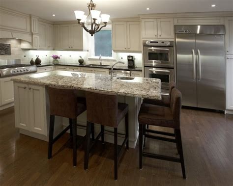 How To Design A Kitchen Island With Seating Custom Kitchen Islands With Seating 2017 Home Reno Goals Pinterest Custom Kitchens