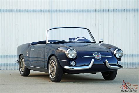 fiat other abarth 750 spider by allemano