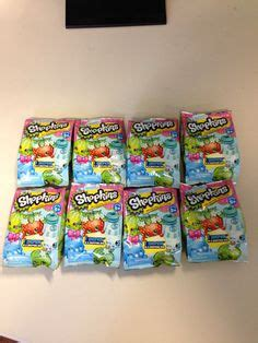 Shopkins Ornaments Blind Pack bundle 4 items shopkins supermarket playset