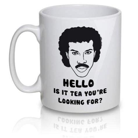 Lionel Richie Tea Mug   The Coolest Stuff Ever